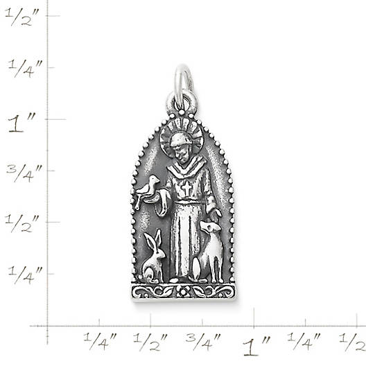 View Larger Image of St. Francis of Assisi Charm