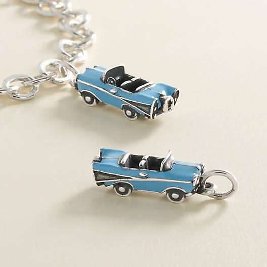 View Larger Image of Enamel Vintage Car Charm