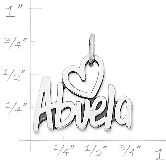 "View Larger Image of ""Abuela"" Charm"