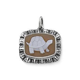 Turtle Cameo Pendant