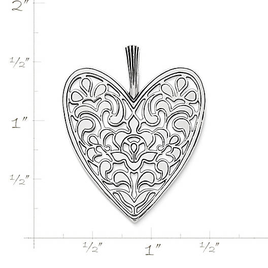 View Larger Image of Venetian Heart Pendant