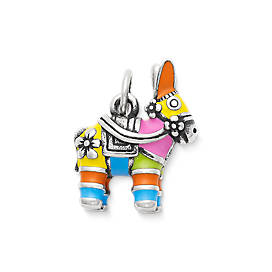 Enamel Piñata Charm