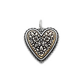 Heirloom Heart Charm