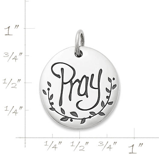 "View Larger Image of ""Pray"" Charm"
