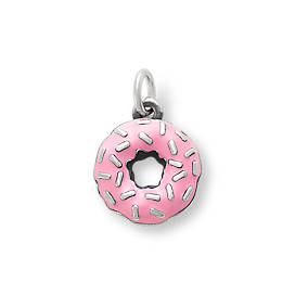 Enamel Frosted Donut Charm