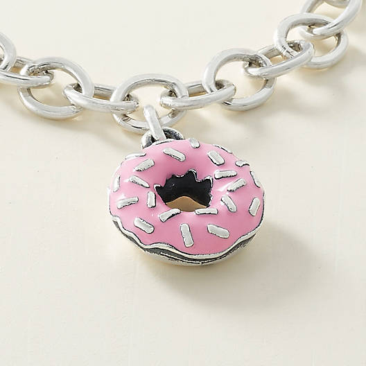 View Larger Image of Enamel Frosted Donut Charm