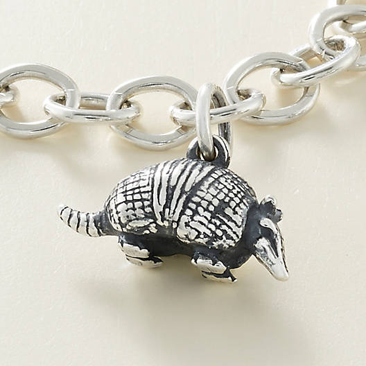 View Larger Image of Banded Armadillo Charm
