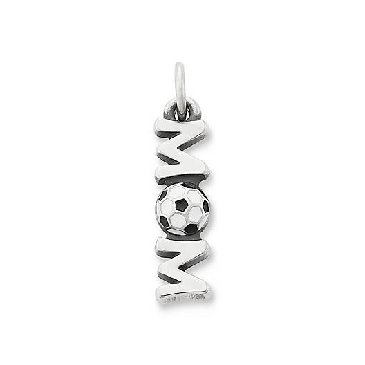 View Larger Image of Enamel Soccer Mom Charm