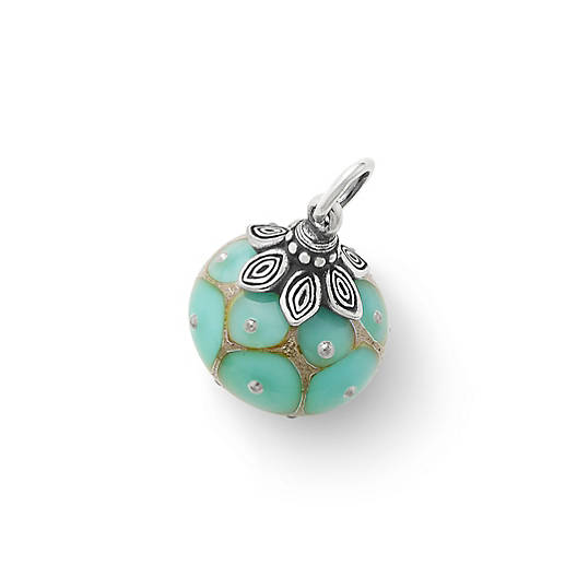 View Larger Image of Floret Art Glass Charm