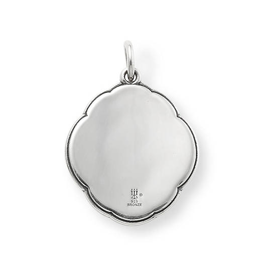 View Larger Image of Heirloom Quatrefoil White Doublet Pendant
