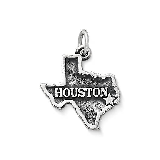 "View Larger Image of ""Houston"" Charm"