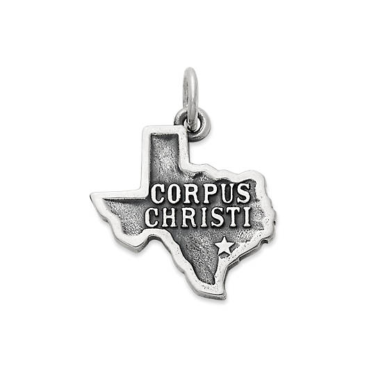"View Larger Image of ""Corpus Christi"" Charm"