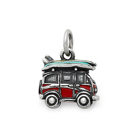 View Larger Image of Enamel Surf's Up Charm