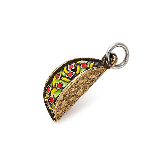View Larger Image of Enamel Taco Tuesday Charm