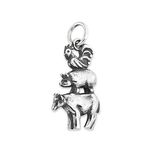 View Larger Image of Farm Friends Charm