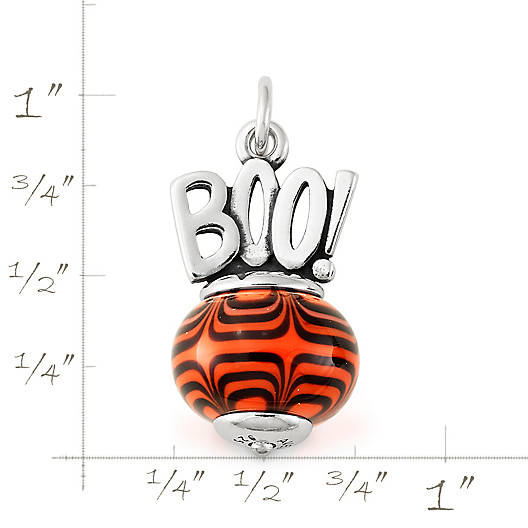 View Larger Image of Halloween Art Glass Charm