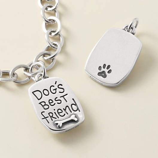 "View Larger Image of ""Dog's Best Friend"" Charm"