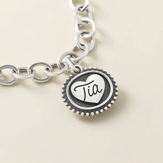 "View Larger Image of ""Tia"" Charm"