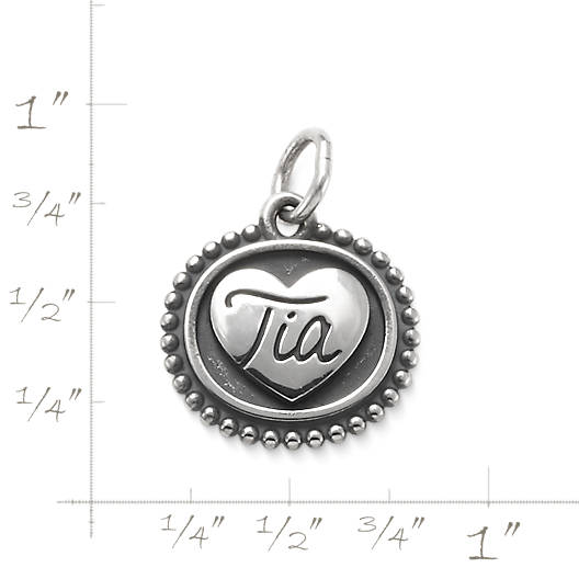 """View Larger Image of """"Tia"""" Charm"""