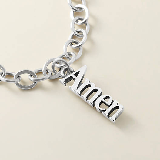 "View Larger Image of ""Amen"" Charm"