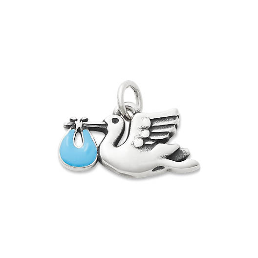View Larger Image of Enamel Blue Special Delivery Charm