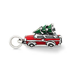 Enamel Family Christmas Tree Charm