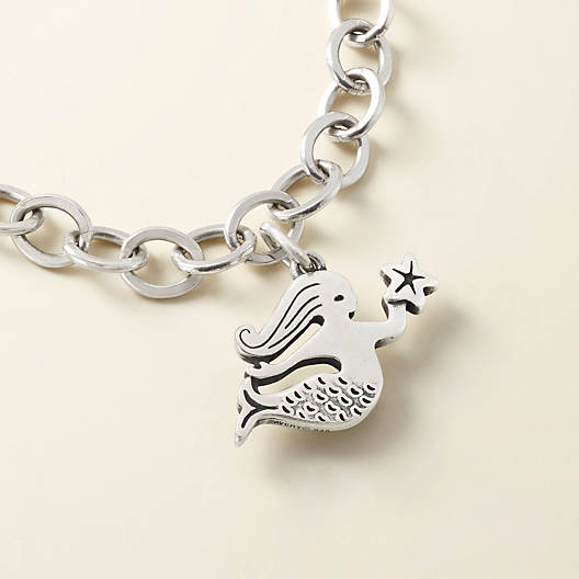 View Larger Image of Swimming Mermaid Charm
