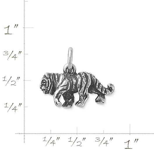 View Larger Image of Striped Tiger Charm