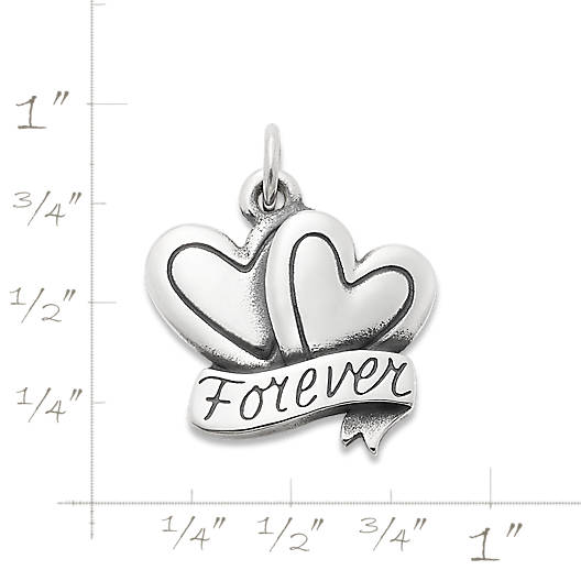 """View Larger Image of """"Forever"""" Love Charm"""