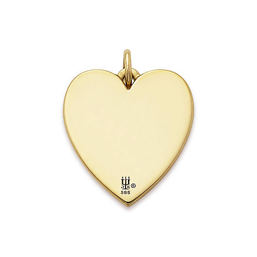 "View Larger Image of ""Love is Patient"" Heart Charm"