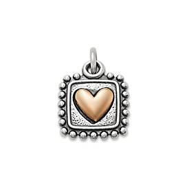 Radiant Heart Charm