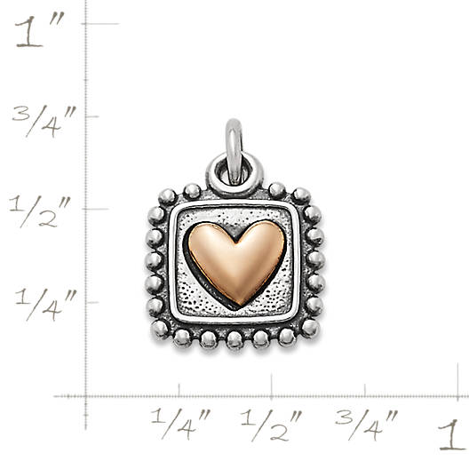 View Larger Image of Radiant Heart Charm