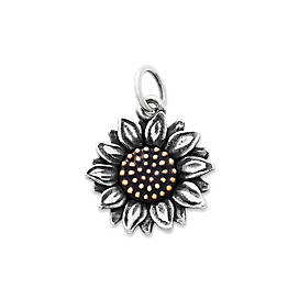 Wild Sunflower Charm