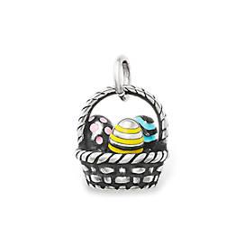 Enamel Easter Basket Charm