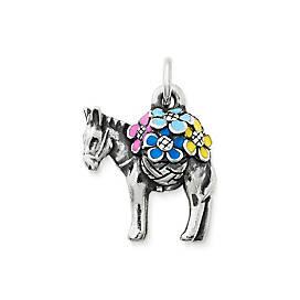 Enamel Festive Donkey Charm
