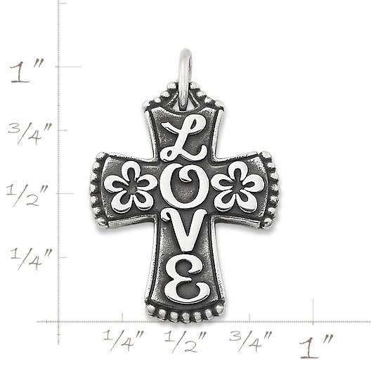 "View Larger Image of ""LOVE"" Cross"