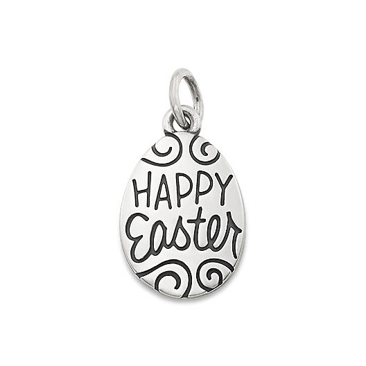 "View Larger Image of ""Happy Easter"" Charm"