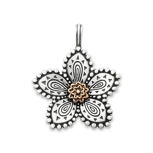 View Larger Image of Beaded Festive Flower Pendant