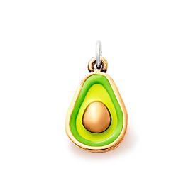 Enamel Avocado Charm