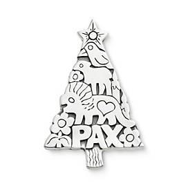 Tree of Love & Peace Pendant