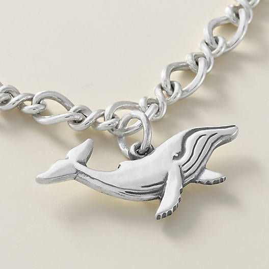 View Larger Image of Whale Charm