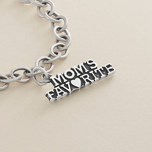 "View Larger Image of ""Mom's Favorite"" Charm"