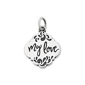 """My Love"" Charm"