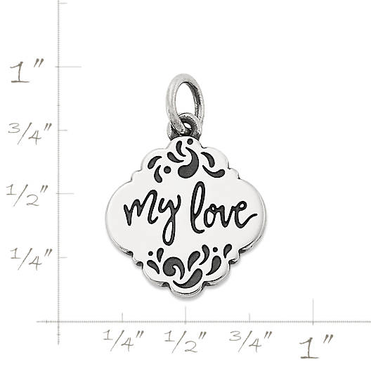 "View Larger Image of ""My Love"" Charm"