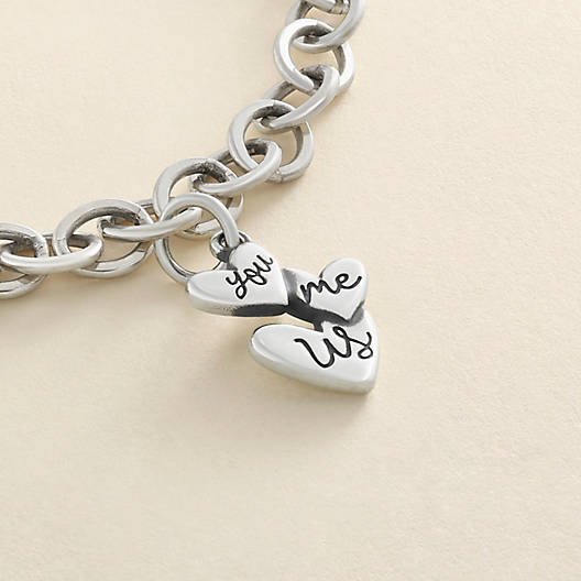 "View Larger Image of ""You Me Us"" Charm"