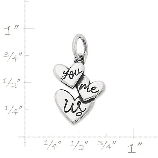 """View Larger Image of """"You Me Us"""" Charm"""