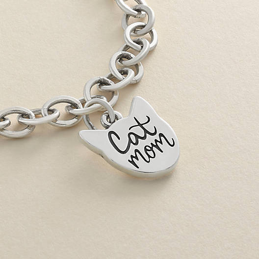 "View Larger Image of ""Cat Mom"" Charm"