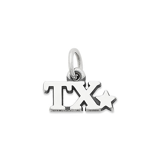 "View Larger Image of ""TX"" Charm"