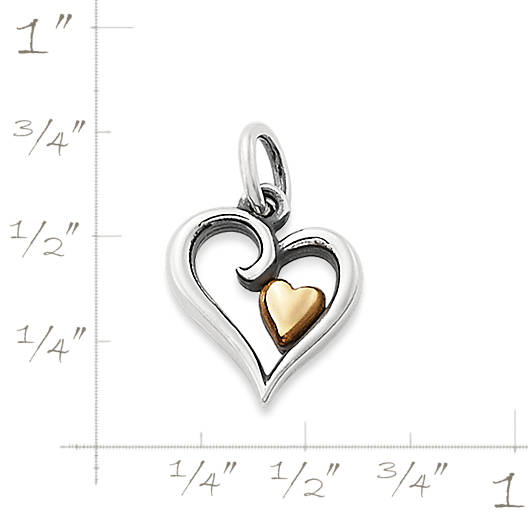View Larger Image of Delicate Joy of My Heart Charm