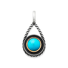 Marjan Pendant with Turquoise